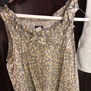 J.Crew Sleeveless Shirt